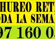 Cachureos retiro 997 160 056  maipu hurtado bosque