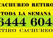 Cachureo retiro  964446048 todas comunas .-