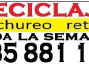 Desperdicios retiro cachureo  reciclaje  935881121