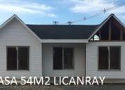 Oferta casa 54m2 invernal con flete gratis