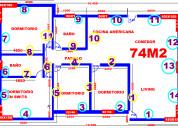 Casa 74m2 oferta invernal con flete gratis