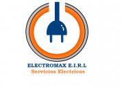 Emergencia electrica, trabajamos en cuarentena