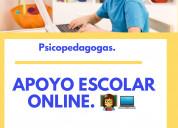 Psicopedagoga apoyo escolar online