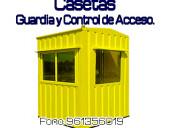 Casetas de guardia, vigilancia tipo container