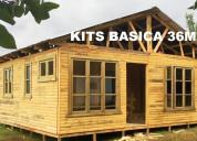 Oferta de casas prefabricadas de 36m2 instaladas c