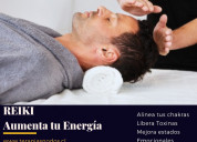 Terapia reiki alineación energética