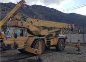 Grua pluma 30 toneladas  modelo at633b