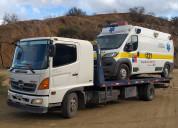 Transporte de vehiculos 992 55 99 44  grua cama