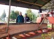 Barraca de maderas 300 m2 funcionando