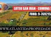 Loteo san juan km 230 ruta 5 sur
