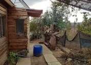 Hermosa parcela con casa rustica en casablanca