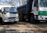 Retiro escombros las condes  fletes 973677079