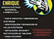 Servicio eléctrico 24/7