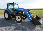 Tractor new holland t4.75 con cargagor 655tl