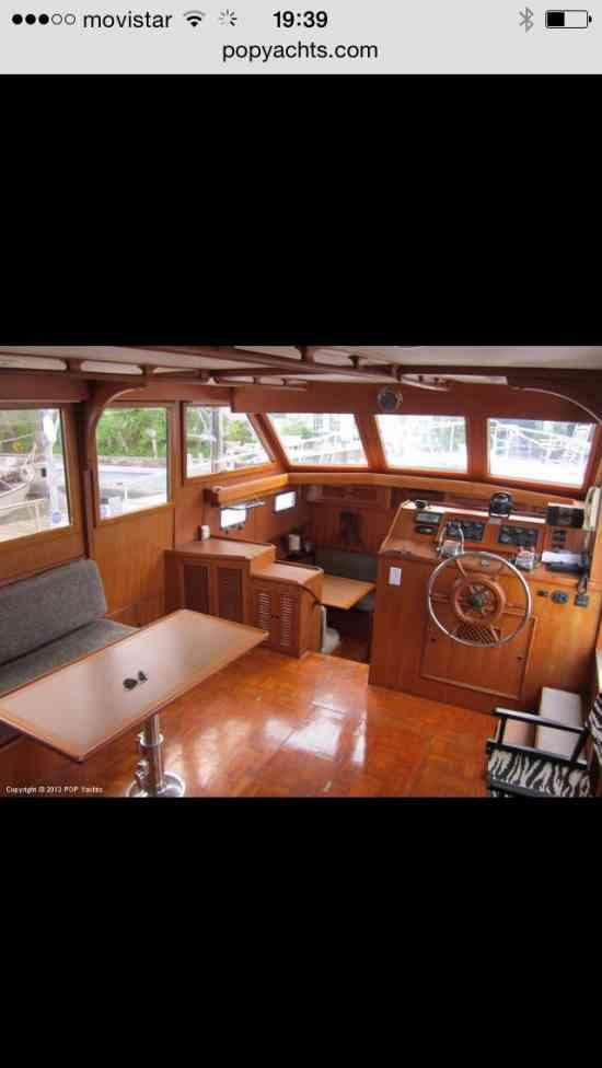 crucero o yate costero