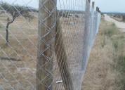 Construcción, cierres perimetrales, muebles person