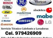 Calefont y lavadoras serv tecnico c 979426909 viña