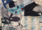 Vendo mudador , cuna , mecedora y ropa de bebe