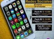 Diseños de logos redes sociales flyers whatsapp arica y parinacota