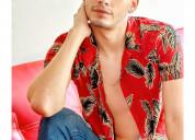 Jovencito venezolano reciÉn llegado atracti modelo