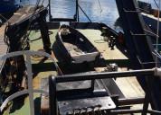 Barco 23 metros para prestación de servicios
