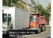 Retiro escombros en maipú 973677079 fletes mudanza