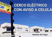 Cerco eléctrico en v región