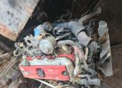 Motor hino no4c sin caja para camión
