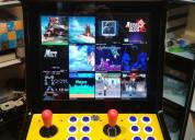 Maquina video juego arcade multijuego ochentero
