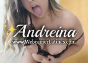 Andreina hermosa modelo webcam