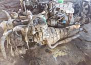 Motor nissan 3.200cc con turbo caja mecánica
