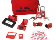 Vendo kit lockout/tagout marca brady
