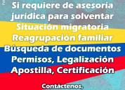 Trámites jurídicos para venezolanos