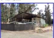 Se vende galpon con ruta 64 quillota con con rol comercial departamento y bodegas 5024 m2