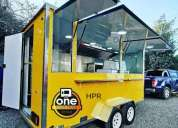 One food truck.