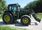 Hermoso tractor john deere 6400.