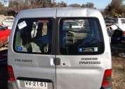 Peugeot partner diesel 2001 en desarme kilometraje 120000 km