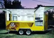 Food truck gastronomico bajo.