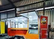 Trailer food truck hexago 2020.