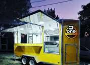 Trailer food truck gastronomico 2021.