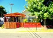 Quilpue se vende casa de dos pisos, 4d 2b sector los pinos