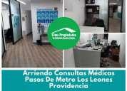 Consultas medicas en providencia metro los leones 16 m2