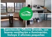 Arriendo providencia oficina o consulta amoblada en santiago