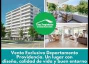Venta exclusivodepartamento providencia 3 dormitorios 140 m2
