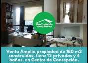 Venta 12 privados 4 banos studio sur concepcion 12 dormitorios 180 m2