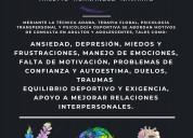 Terapia psicológica y complementaria.