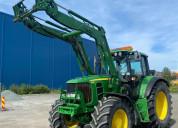 Tractor john deere 6630 premium con cargador