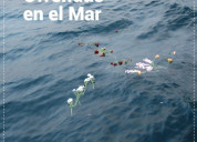 Ofrendas y funerales  en el mar  valparaiso