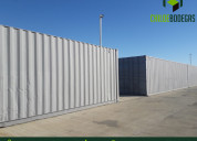 Contenedores en centro logistico chiloe bodegas