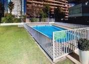 Se vende departamento en sector calle pio xi vitacura 4 dormitorios 140 m2